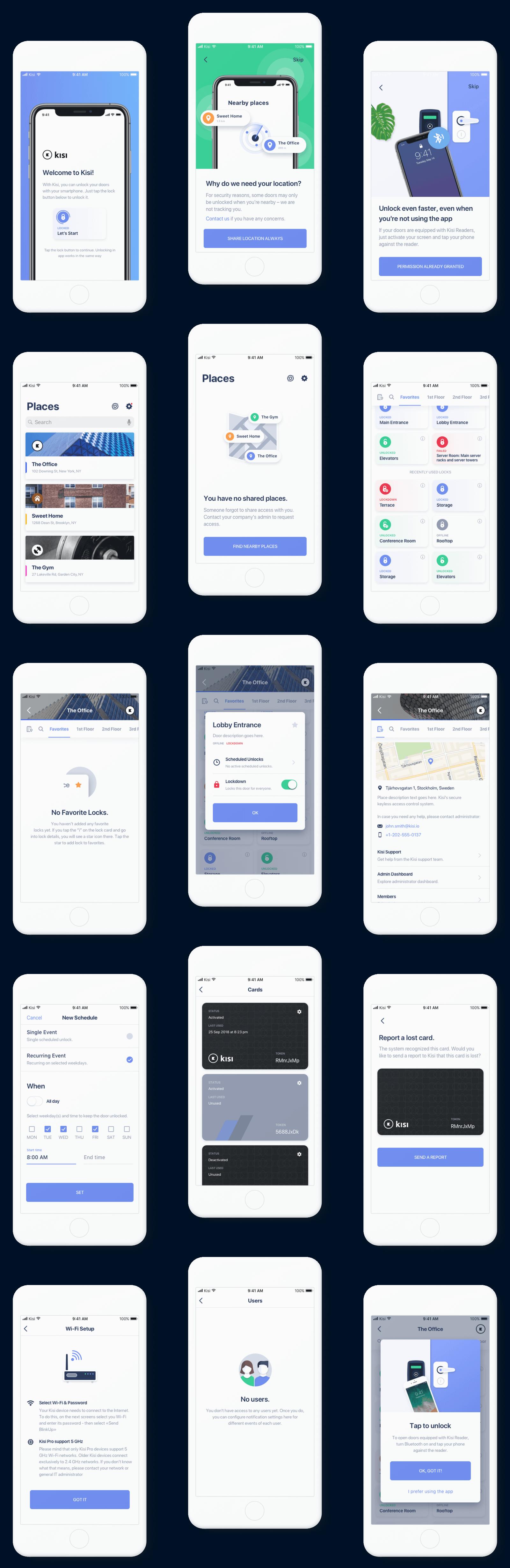 Kisi ios app